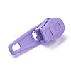 Spray Painted Alloy Replacement Zipper SlidersPALLOY-WH0067-97L-2