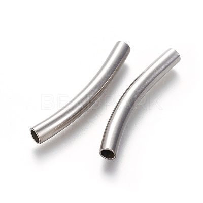 304 Stainless Steel Tube BeadsSTAS-L226-056P-1