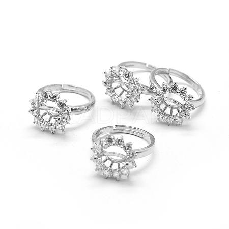 Brass Finger Ring ComponentsX-KK-L184-51P-1