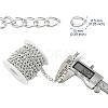 Aluminium Twisted Curb ChainsCHA-YW0001-01S-8