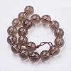 Smoky Quartz Beads StrandsG-C076-8mm-4-2