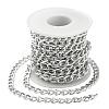 Aluminium Twisted Curb ChainsCHA-YW0001-01S-3