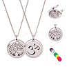 SUNNYCLUE® 304 Stainless Steel Pendant Necklaces NJEW-SC0001-03P-2