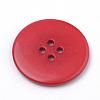 4-Hole Acrylic ButtonsX-BUTT-Q038-25mm-M-4