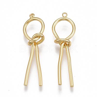 Brass PendantsX-KK-T038-146G-1