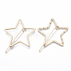 Alloy Hollow Geometric Hair Pin PHAR-N005-014G-2