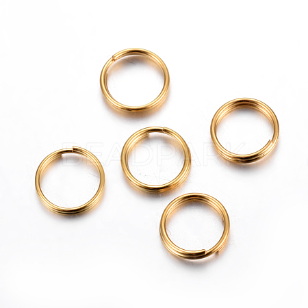 304 Stainless Steel Split RingsX-STAS-P223-22G-01-1