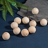 Unfinished Wood Beads X-WOOD-S651-30mm-LF-4