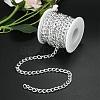 Aluminium Twisted Curb ChainsCHA-YW0001-01S-6