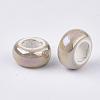 Electroplate Porcelain BeadsPORC-T003-01-12-2