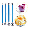 Professional DIY Stainless Steel Polymer Clay Tools and UV Gel Painting Nail Art Dotting PenTOOL-BC0008-13P-6