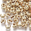 Brass Crimp Beads Covers X-KK-S354-214A-NF-2