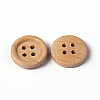 Natural Round 4 Hole Buttons X-NNA0VFH-2