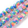 Handmade Polymer Clay Bead StrandsX-CLAY-Q230-25-1