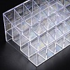 Makeup Cosmetic Storage Holder Clear Plastic Lisptick Stand Display Trays C050Y-2