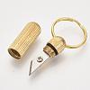 Multifunctional Brass KeychainKEYC-T007-01G-2