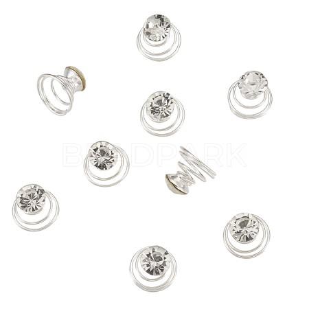 Spiral Shape Hair Braid RingsIFIN-TA0001-14-1