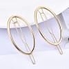 Alloy Hollow Geometric Hair PinPHAR-N005-002G-4