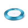 1/4inch(6mm) Blue Satin RibbonX-RC6mmY047-2