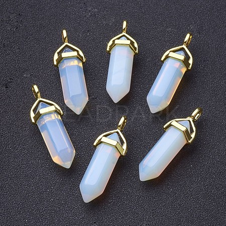 Opalite Pointed Pendants X-G-G902-C02-1