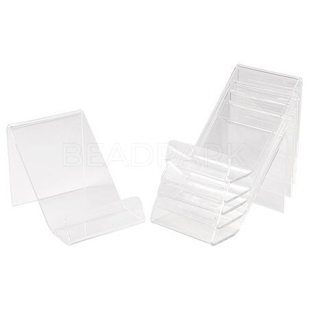 Acrylic Book Display StandsODIS-WH0004-01-1