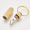Multifunctional Brass KeychainKEYC-T007-03G-2