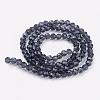 Glass Beads StrandsEGLA-J042-4mm-03-2
