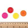 Acrylic Sewing ButtonsX-BUTT-E076-D-M-3