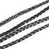 Braided Imitation Leather Cords LC-S002-5mm-02-2