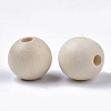 Unfinished Natural Wood BeadsX-WOOD-S651-A14mm-LF-2
