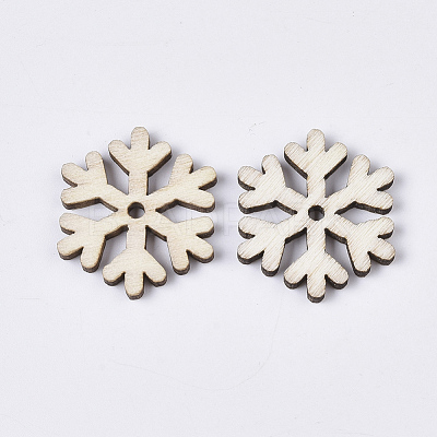 Christmas Theme Laser Cut Wood Shapes X-WOOD-T011-64-1